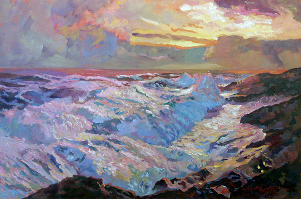 Painting - Pacific Ocean Blue by David Lloyd Glover