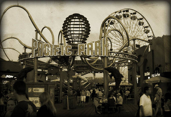 Pier 66 Photograph - Pacific Park by Ricky Barnard