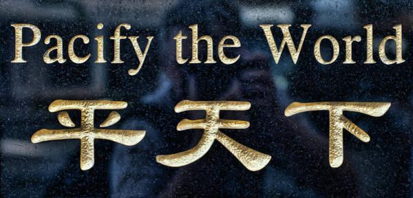 Photograph - Pacify The World by Dan McManus