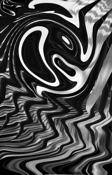 Liquify Photograph - Pacman by John Bartosik