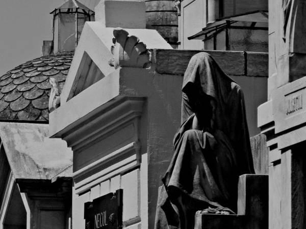 Cementery Photograph - Pain by Sabrina Vera