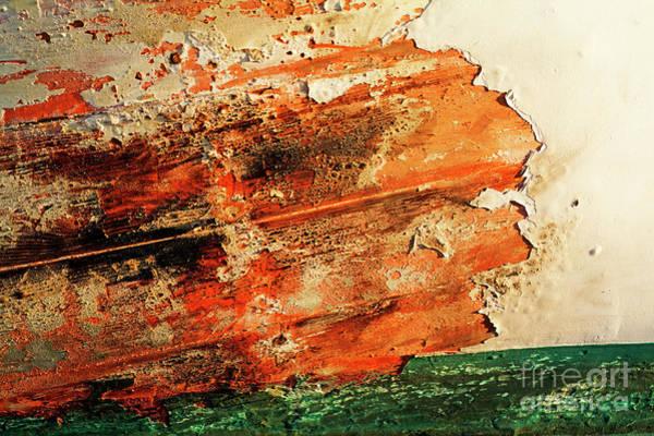 Wall Art - Photograph - Paint Peeling by Sami Sarkis