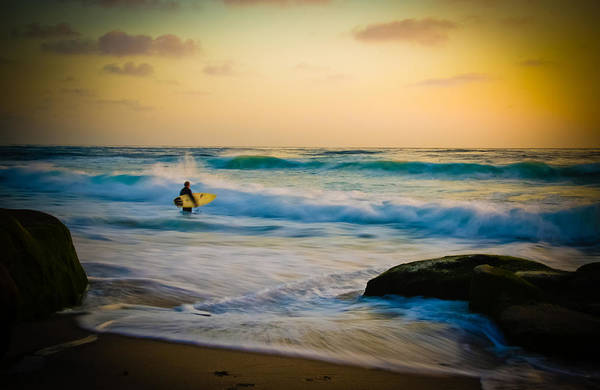 Wall Art - Photograph - Painted Surfer by Kelly Wade