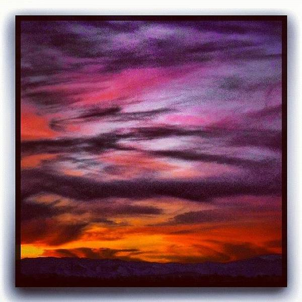 Fineart Wall Art - Photograph - Painterly Sunset by Paul Cutright