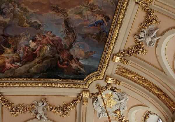 Photograph - Palace Ceiling Detail by Lorraine Devon Wilke