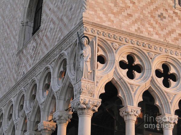 Palais Photograph - Palace Ducal. Venice by Bernard Jaubert