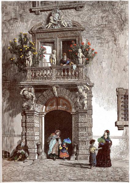 Palazzo Sardagna Trento Art Print