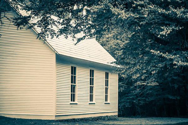 Photograph - Palmer Chapel-sepia by Joye Ardyn Durham