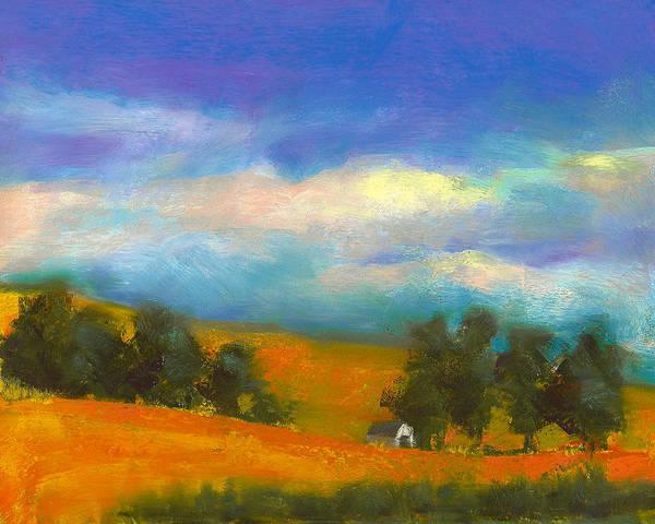 Painting - Palouse Wheat Fields by David Patterson