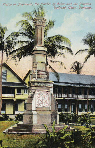 Photograph - Panama Railroad Monument by Granger