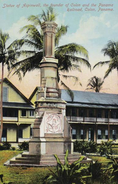 Photograph - Panama Railroad Monument by Granger