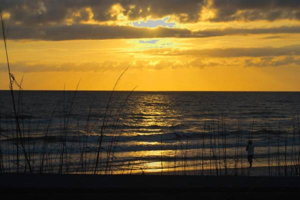 Photograph - Panhandle Sunset by Judy Hall-Folde