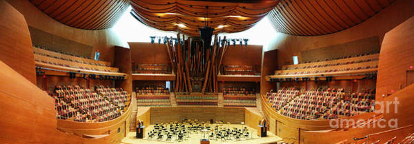 Wall Art - Photograph - Pano Concert Hall by Chuck Kuhn