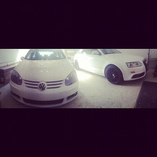 Audi Photograph - #panorama #mk5 #audi #vw #volkswagen by Peter Rotolo