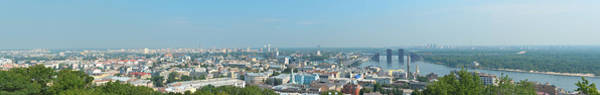Dnieper Photograph - Panorama Of Kiev by Oleg Mitiukhin