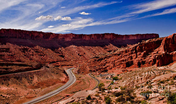 Entrada Photograph - Panoramic View                                                       by Robert Bales