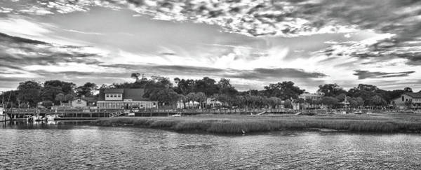 Photograph - Panoramic View Of Murrells Inlet by Mike Covington