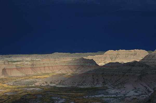 North Dakota Badlands Wall Art - Photograph - Panoramic View Of The Wall In South by Annie Griffiths