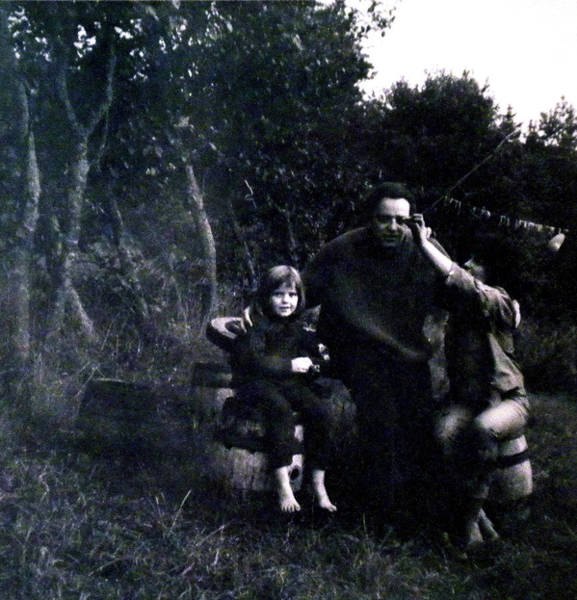 Photograph - Pappa Hans Georg Mamma Chris And Colette by Colette V Hera  Guggenheim