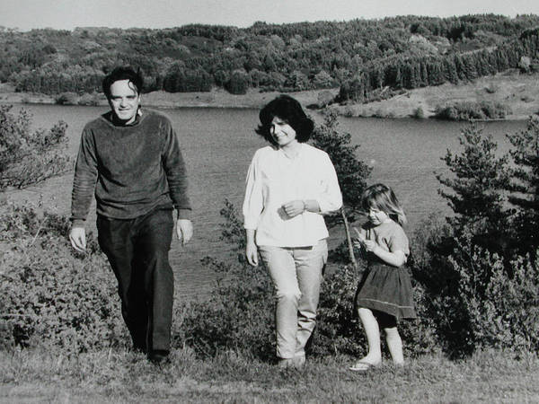 Photograph - Pappa Hans Mama Chris Colette 1960 Dollerup Hills Denmark by Colette V Hera  Guggenheim