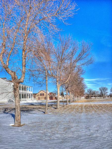 Photograph - Parade Grounds - Fort Laramie  by HW Kateley