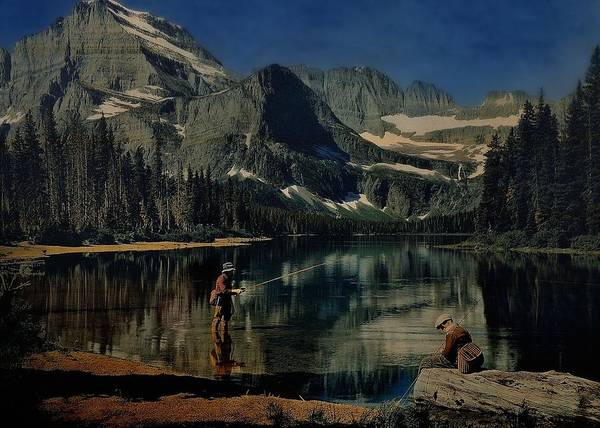 Photograph - Paradise Lake Revisited by Mark Fuller