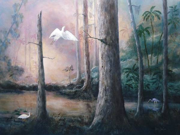 Painting - Paradise Lost by Gary Partin