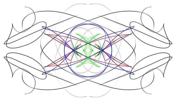 Robbie Digital Art - Parallel Universe 8 by Robbie Brown