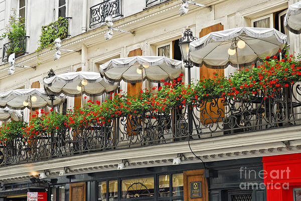 Photograph - Paris Cafe by Elena Elisseeva