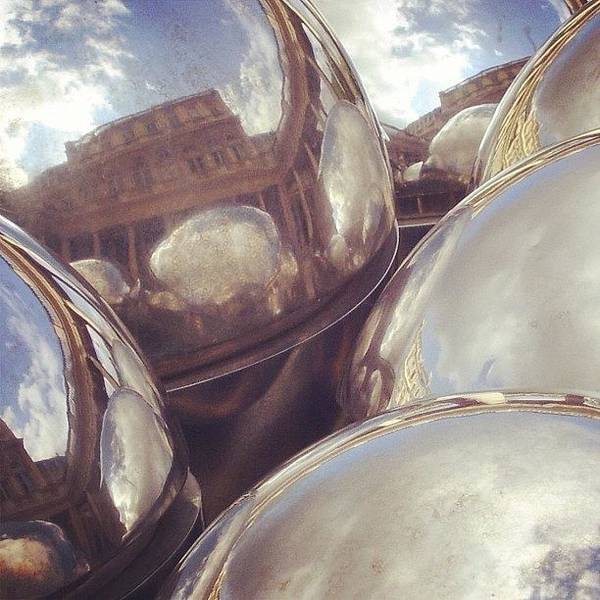 Grace Wall Art - Photograph - #paris #france #reflection #sculpture by Grace Shine