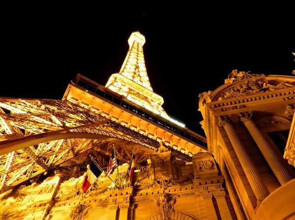 Photograph - Paris Las Vegas 2012 001 by Lance Vaughn