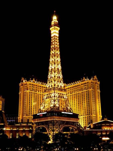 Photograph - Paris Las Vegas 2012 003 by Lance Vaughn