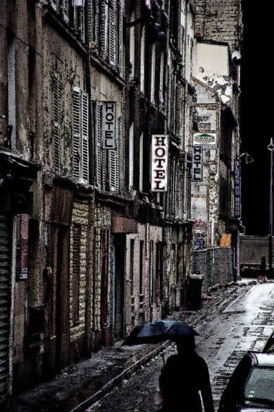 Photograph - Paris Noir by Andrew Fare