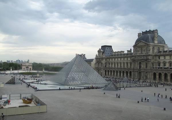 Photograph - Paris Pyramids by Keith Stokes