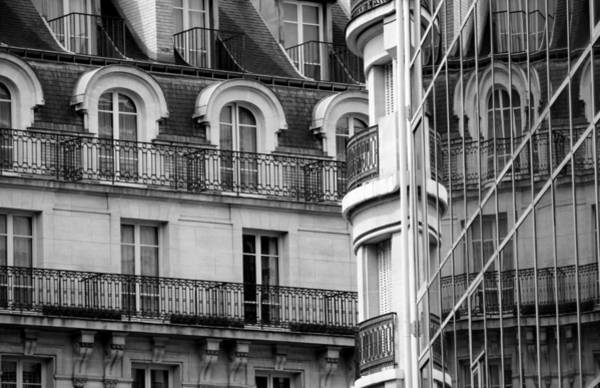Photograph - Paris Reflections 1 by Andrew Fare