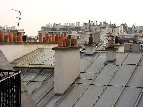 Photograph - Paris Rooftop by Keith Stokes