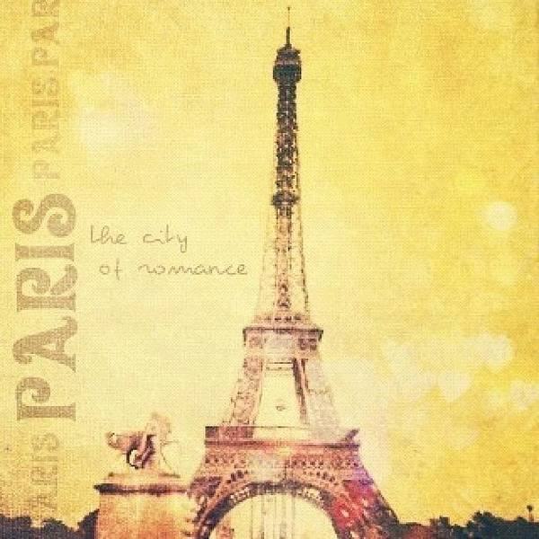 Romantic Wall Art - Photograph - Paris... The City Of Romance..💛✨ by Traci Beeson