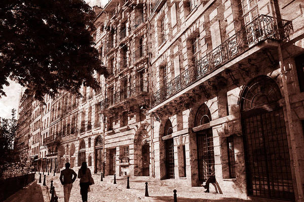 Photograph - Paris Walk by Andrew Fare
