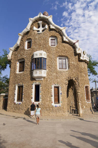 Photograph - Park Guell Barcelona Antoni Gaudi by Matthias Hauser