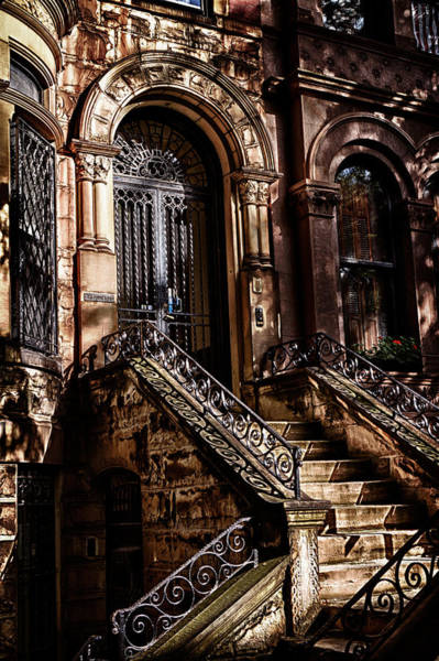 Photograph - Park Slope Building 33 Take 1  by Val Black Russian Tourchin