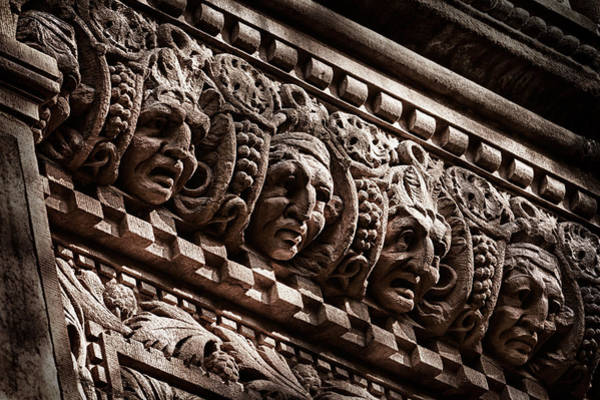 Photograph - Park Slope Landmark Building Detail 1  by Val Black Russian Tourchin