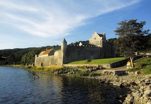 Horizontally Photograph - Parkes Castle, Co Leitrim, Ireland by The Irish Image Collection