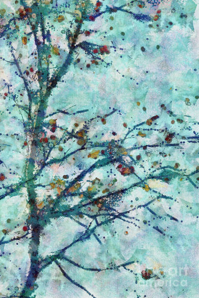 Aqua Digital Art - Parsi-parla - D13bt04t by Variance Collections