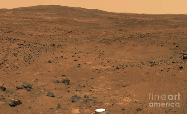 Photograph - Partial Seminole Panorama Of Mars by Stocktrek Images