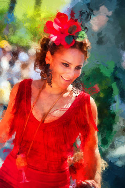 Passionate Photograph - Passionate Gypsy Blood. Flamenco Dance by Jenny Rainbow