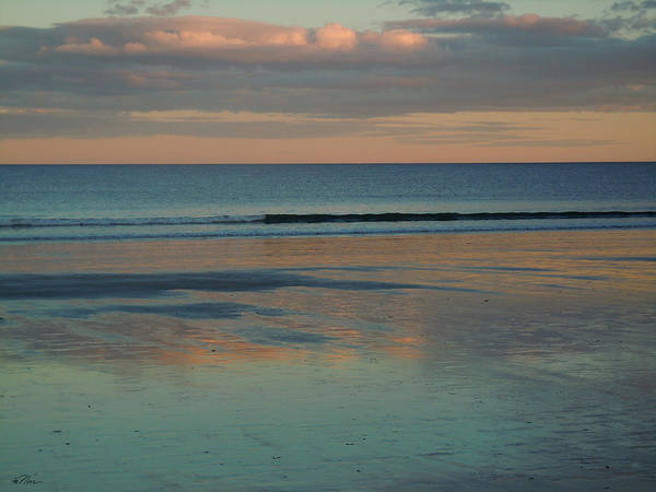Photograph - Pastel Reflections On The Coast by Nancy Griswold