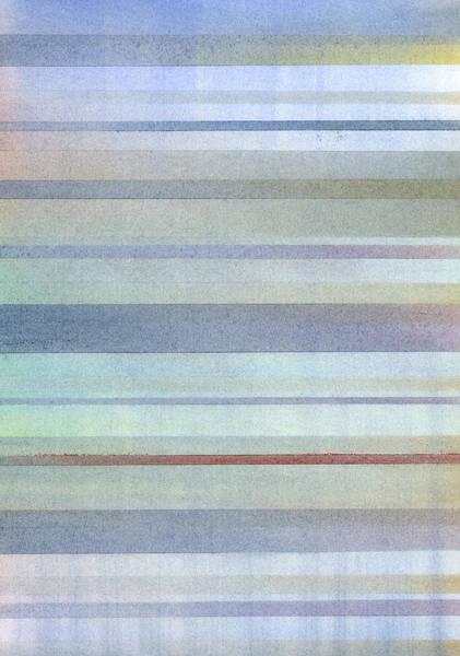 Subtle Painting - Pastel Stripes by Hakon Soreide
