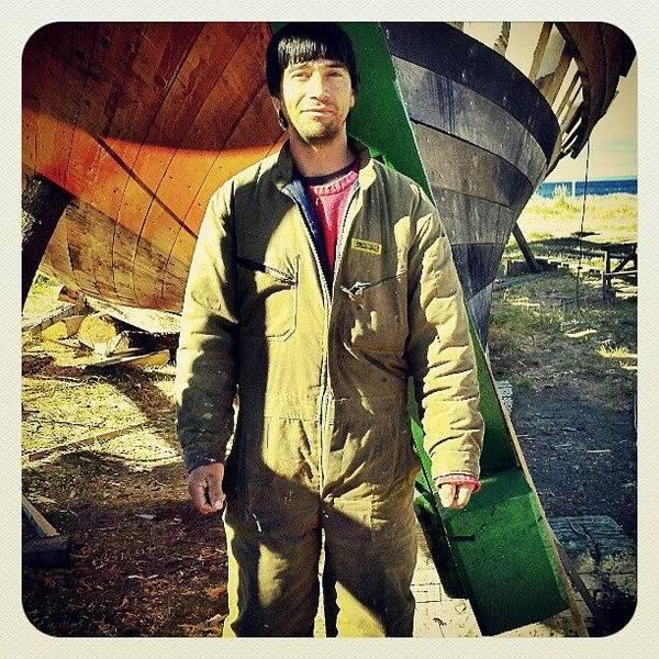 Run Photograph - Patagonian Shipwright Juan Cariñanco by Hit And Run History