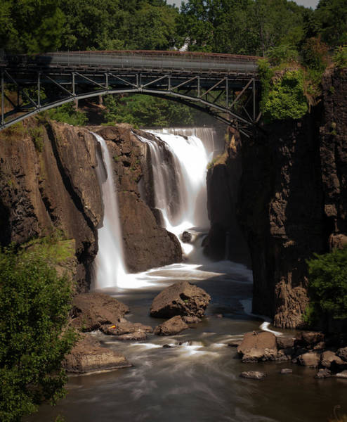 Haines Falls Photograph - Paterson's Great Falls II by David Hahn