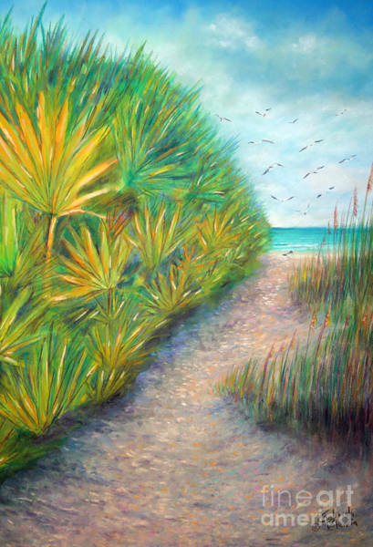 Wall Art - Pastel - Path To Serenity by Gabriela Valencia